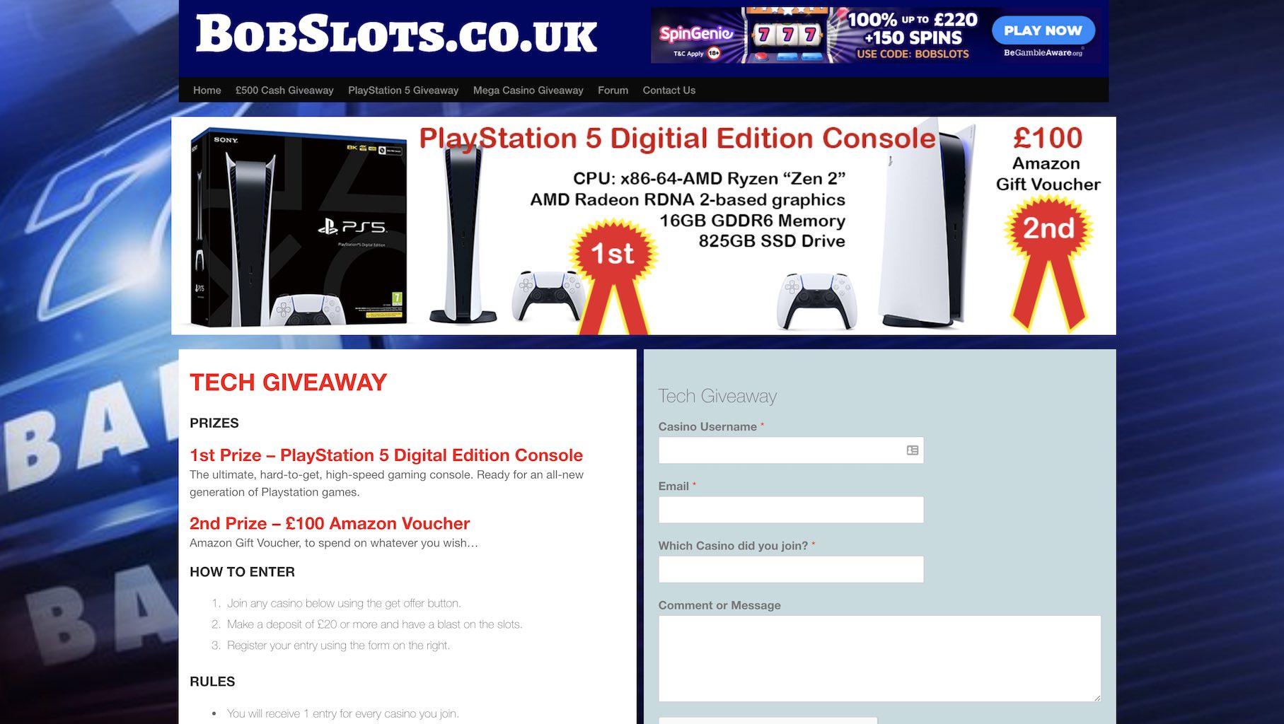 bob slots website
